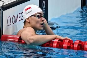 Joseph Schooling will be taking part in the 100m butterfly heats of the Tokyo Olympics on Thursday.