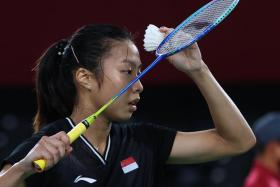 Singapore's Yeo Jia Min defeated Mexico's Gaitan Haramara 2-0 in 25 minutes.