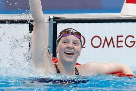 Tokyo 2020 delay helps US swimmer Lydia Jacoby, 17, win gold medal