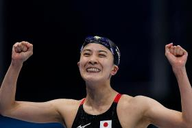 Mind over matter as Japanese swimmer Yui Ohashi bags double