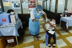 Cambodia begins Covid-19 jabs for those aged 12 to 17