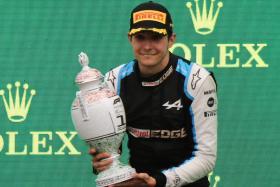 Ocon wins Hungarian GP but Hamilton retakes championship lead