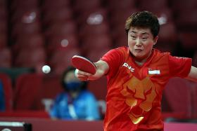 Feng Tianwei: 'No pressure' on us against China