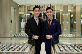 Brothers in their 20s make their mark in luxury watch industry