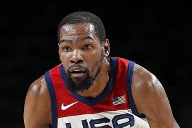 Durant leads fightback against Boomers as US reach final