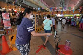 Stallholders lament thin crowds as Chong Pang Market reopens