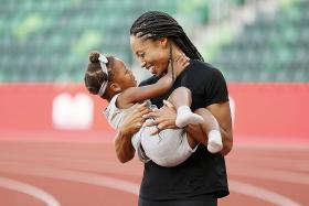 Jury's out on support for athlete mums