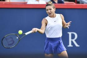 Simona Halep skipped last year's US Open over Covid-19 fears.
