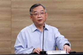 Minister for Trade and Industry Gan Kim Yong.
