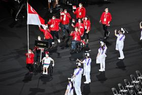 PM Lee cheers on Singapore's Paralympians as Games begin