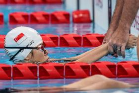 Yip Pin Xiu won her fourth Paralympic gold medal by retaining her 100m backstroke S2 title in Tokyo on Wednesday (Aug 25).