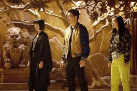Chinese-Canadian actor Simu Liu plays the titular protagonist in Marvel superhero movie Shang-Chi And The Legend Of The Ten Rings