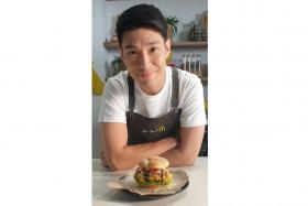 Mr Ben Yeo worked with the team at McDonald's Singapore for nine months to create the burger.