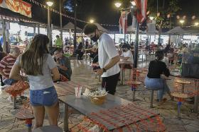 Rule to clear tables at coffee shops, foodcourts to be enforced in Jan