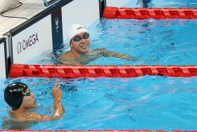 Swimmer Toh Wei Soong happy for long-time rival