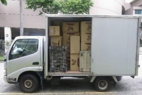 Over 6,000 cartons of duty-unpaid cigarettes seized; 5 people arrested