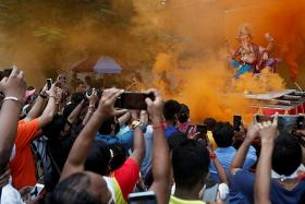 India restricts religious festivals over fears of new Covid-19 wave