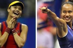 Britain's Emma Raducanu (left) and Canada's Leylah Fernandez could headline the next generation of women's tennis stars.