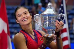 Dream comes true for teen tennis sensation Raducanu