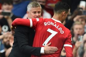 While Ole Gunnar Solskjaer says Cristiano Ronaldo's playing time will have to be managed, he also spoke highly of the 36-year-old fitness and recovery.