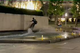 Singaporean man charged for boatless wakeboarding at War Memorial Park