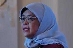 President Halimah Yacob said girls need to know that it is safe talk to someone about adult behaviour they are uncomfortable with.