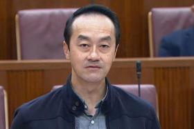 Senior Minister of State for Manpower Koh Poh Koon in Parliament yesterday.