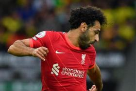 Mohamed Salah has scored 128 goals in 207 Liverpool appearances.