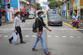 Migrant workers head out to Little India for first time in 17 months