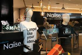 Naisse makes a comeback online