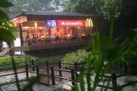 McDonald's to continue running Ridout Tea Garden outlet