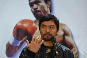 Boxing great Manny Pacquiao will run to be Philippines president