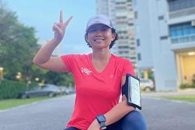 Helper gets to run, cycle and swim during work hours