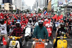 Protesters demand Thai PM resign on anniversary of 2006 coup