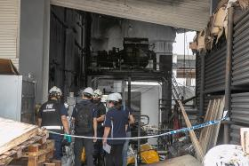 Deadly Tuas explosion linked to machine that emitted smoke previously