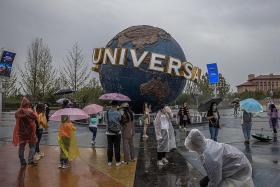 Universal Beijing Resort opens on Monday to 10,000 visitors