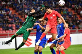 Singapore lost 3-0 to Thailand when both sides met in the 2018 AFF Suzuki Cup.