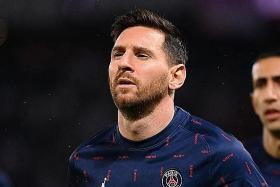 Injured Messi out of PSG's next game