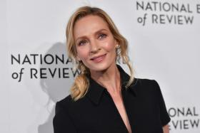In this file photo US actress Uma Thurman attends the 2020 National Board Of Review Gala on January 8, 2020 in New York City.