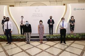 Singapore's 'Spider-man' honoured for conservation efforts