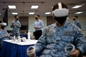 RSAF taps tech tools for learner-centric training