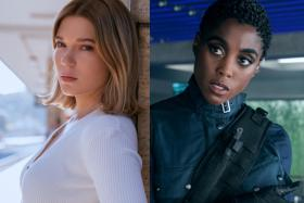 Lea Seydoux and Lashana Lynch in No Time To Die