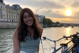 Miss Xenia Chan got a scholarship from the French government to study at Sciences Po in Paris.