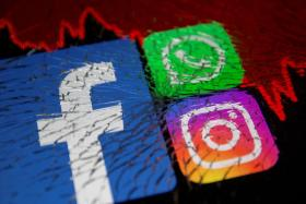 Facebook and its family of apps, including Instagram and WhatsApp, went down at the same time on Monday, Oct. 4, 2021.