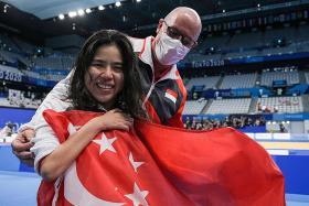 Para-swimmer Yip Pin Xiu hopes award will spur Singaporeans