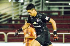 Albirex's Takahiro Koga wins SPL's first Golden Glove award