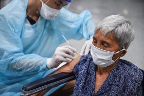 Jabs effective in preventing severe Covid-19 cases among seniors