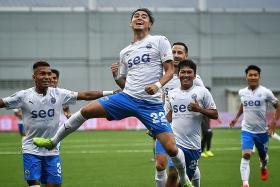 Success of Sailors augurs well for Singapore Premier League