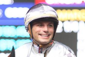 Jockey Louis-Philippe Beuzelin.