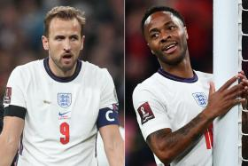 Harry Kane (left) and Raheem Sterling both looked off-colour in England's 1-1 draw with Hungary.